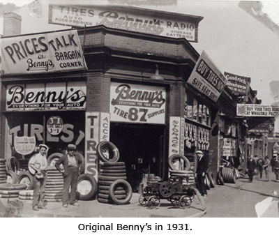 Original Benny's in 1931