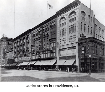 Outlet Stores in Providence, RI