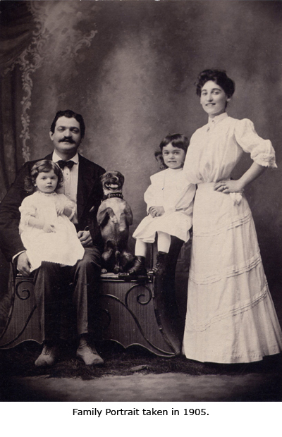 A Family Portrait Taken in 1905