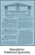 Newsletter Published Quarterly